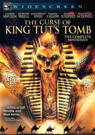 The Curse of King Tut's Tomb (2006 film) - DVD cover