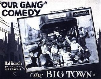 The Big Town (1925 film) - Image: The Big Town Film Poster