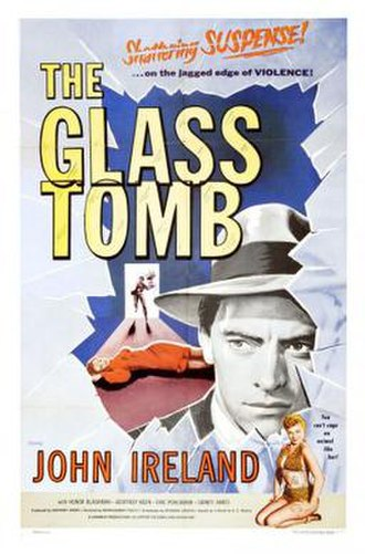 The Glass Cage (1955 film) - U.S. theatrical release poster