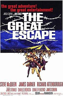 <i>The Great Escape</i> (film) 1963 American film directed by John Sturges