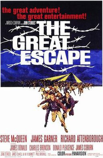 The Great Escape (film) - Theatrical release poster by Frank McCarthy