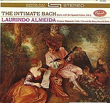 The Intimate Bach Duets With Spanish Guitar Vol2