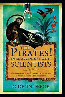 Cover of The Pirates! In an Adventure with Scientists hardback edition