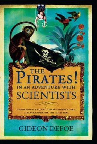 The Pirates! In an Adventure with Scientists - Cover art for the Hardback edition