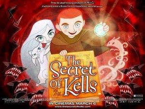 The Secret of Kells - Theatrical release poster