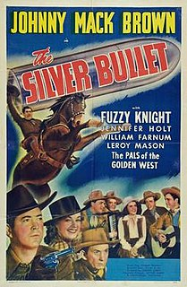 <i>The Silver Bullet</i> (1942 film) 1942 film by Joseph H. Lewis