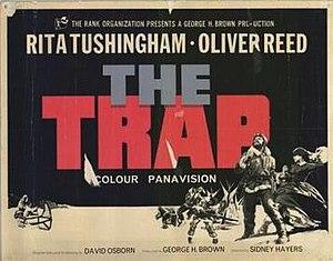 The Trap (1966 film) - Film poster by Arnaldo Putzu