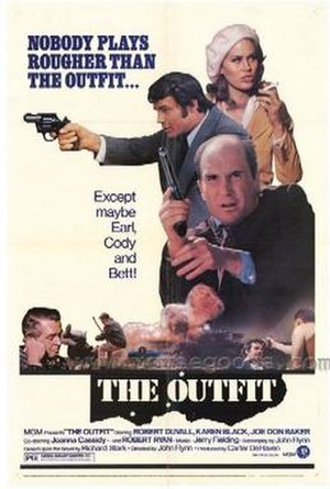 The Outfit (1973 film) - Theatrical poster