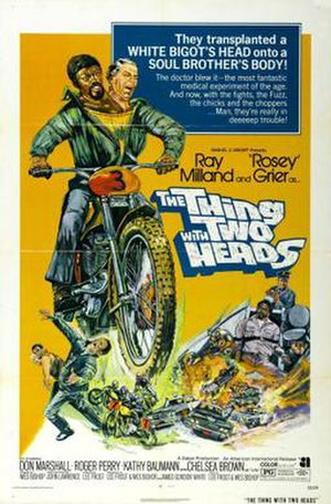 The Thing with Two Heads - Theatrical release poster