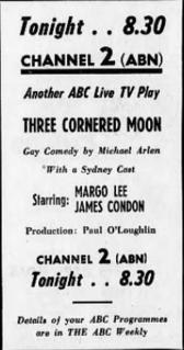 <i>Three Cornered Moon</i>