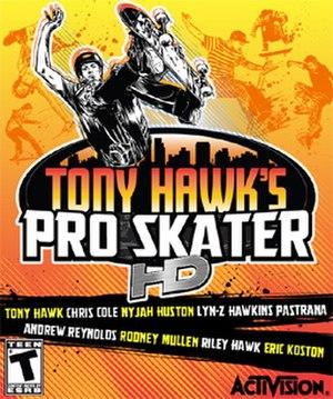 Tony Hawk's Pro Skater HD - Image: Tony Hawk HD Art