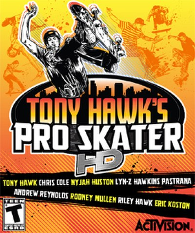 Picture of a game: Tony Hawk's Pro Skater Hd