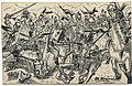 Ulhan (cavalry) charge.WWI postcard art.Wittig collection.item 31.scan.obverse.jpg