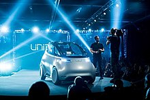 Uniti Sweden Electric Car Consumer Electronics