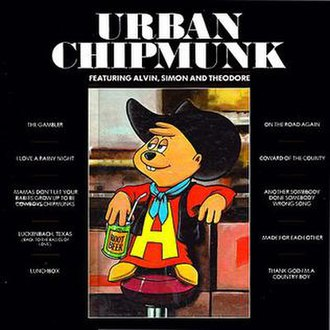 Urban Chipmunk - Image: Urban Chipmunk Cover