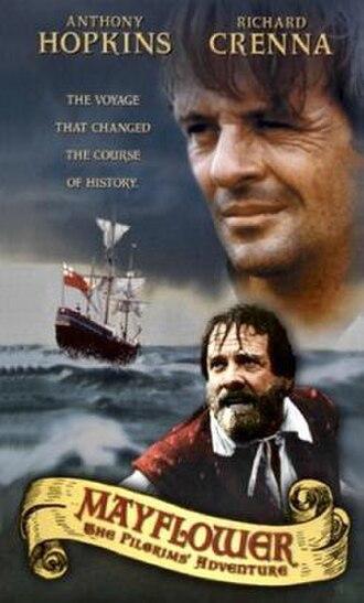 Mayflower: The Pilgrims' Adventure - VHS cover from 1999