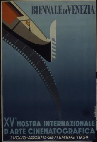 15th Venice International Film Festival - Festival poster