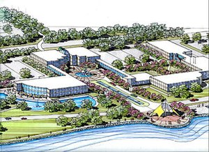 Western Illinois University - An artist's rendition of WIU-QC