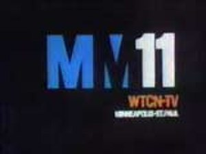 Metromedia - 1970s logo for WTCN-TV (now KARE) in Minneapolis, which included the corporate logo for Metromedia; this logo was also used by KTTV in Los Angeles