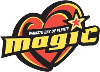 Waikato Bay of Plenty Magic - Magic logo, 2008 to ca. 2012