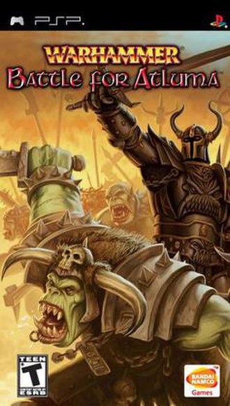 Warhammer: Battle for Atluma - North American box cover