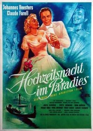 Wedding Night In Paradise (1950 film) - Image: Wedding Night In Paradise (1950 film)
