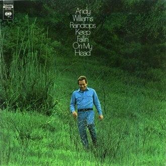 Raindrops Keep Fallin' on My Head (Andy Williams album) - Image: Williams Raindrops