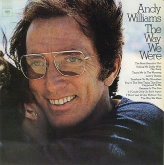 The Way We Were (Andy Williams album) - Image: Williams Way