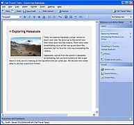 Windows Live Writer Wikipedia