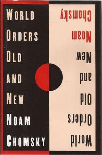 World Orders Old and New - Cover of the first edition