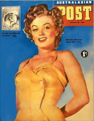 Australasian Post - Cover of the Australasian Post for 29 January 1953.