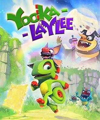 Yooka-Laylee - Cover art