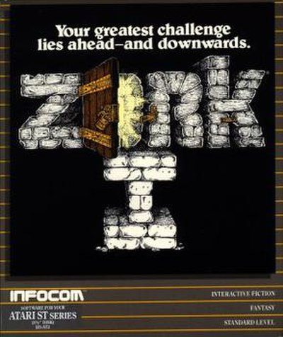 Picture of a game: Zork