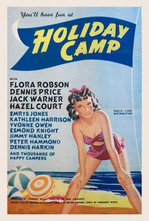 Holiday Camp (film) - Theatrical release poster