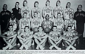 1959–60 Illinois Fighting Illini men's basketball team - Image: 1959–60 Illinois Fighting Illini men's basketball team