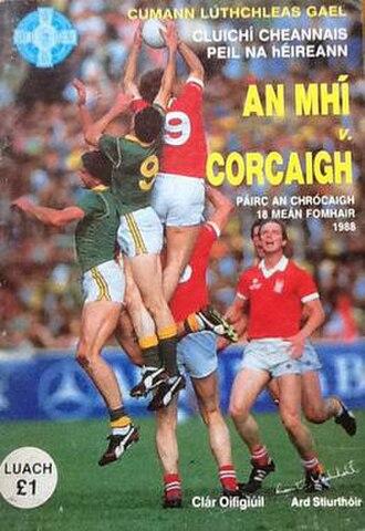 1988 All-Ireland Senior Football Championship Final - Image: 1988 All Ireland Senior Football Championship Final
