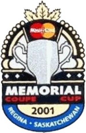 2001 Memorial Cup - Image: 2001 Memorial Cup