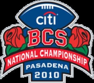 2010 BCS National Championship Game - Image: 2010 BCS Championship Game