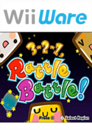 3-2-1, Rattle Battle! - Image: 3 2 1, Rattle Battle! Coverart