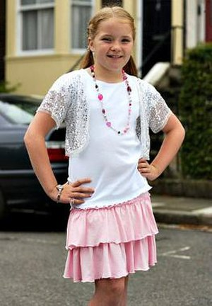 Abi Branning - Fitzgerald (pictured as Abi in 2006), was cast as Abi after three auditions.