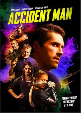 Accident Man (film) - Image: Accident Man film poster