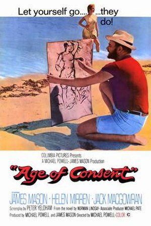 Age of Consent (film) - 1969–1970 cinema poster