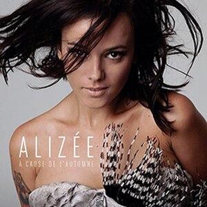 À cause de l'automne - Image: Alizée A cause de l'automne cover art