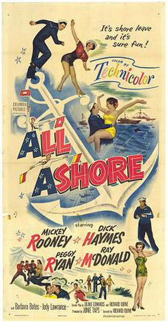 All Ashore - Original film poster