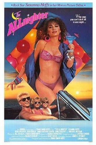 The Allnighter (film) - Theatrical release poster