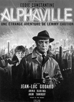 Alphaville (film) - Theatrical poster for Alphaville