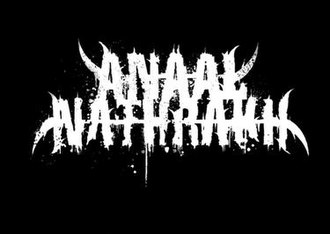 Anaal Nathrakh - Official band logo.
