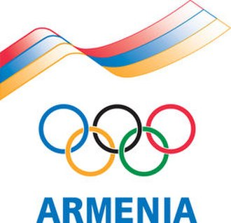 Armenian Olympic Committee - Image: Armenian Olympic Committee logo