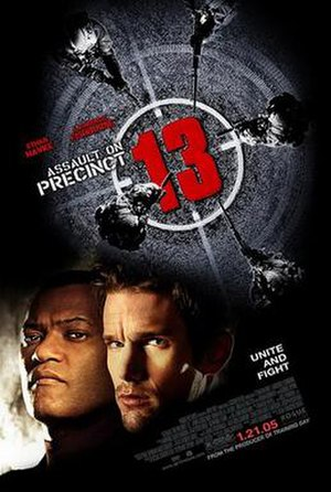 Assault on Precinct 13 (2005 film) - Theatrical release poster