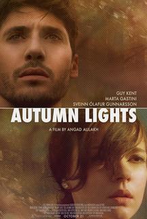 <i>Autumn Lights</i> 2016 American-Icelandic mystery-drama film directed by Angad Aulakh